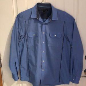 INC men's button down sports shirt